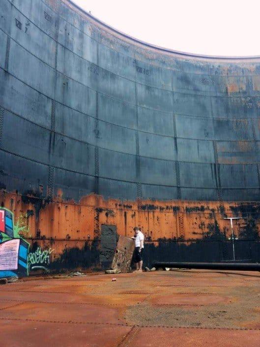 Vasikkasaaren öljysäiliöt