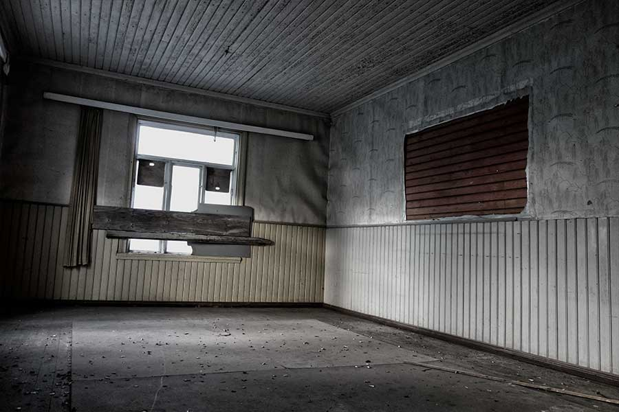Hylätty lasten mielisairaala