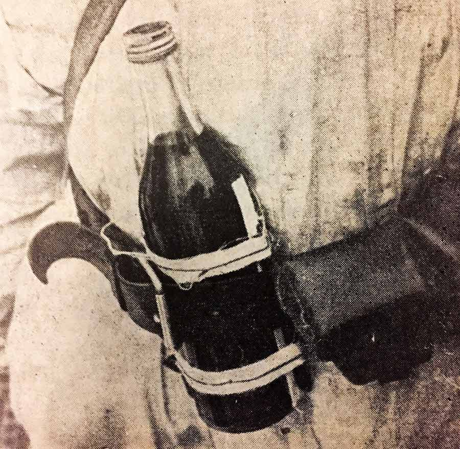 Molotovin coctail